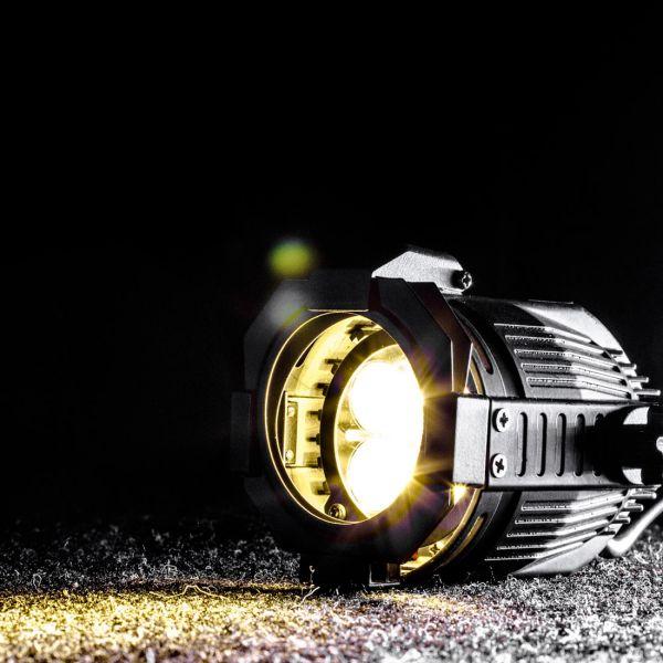 Opti PAR 16 LED 4x1W cw/6 silver Picture 2