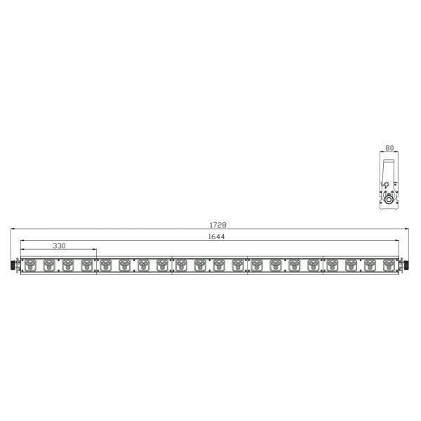 Design LED 60 TRI Strip Picture 2