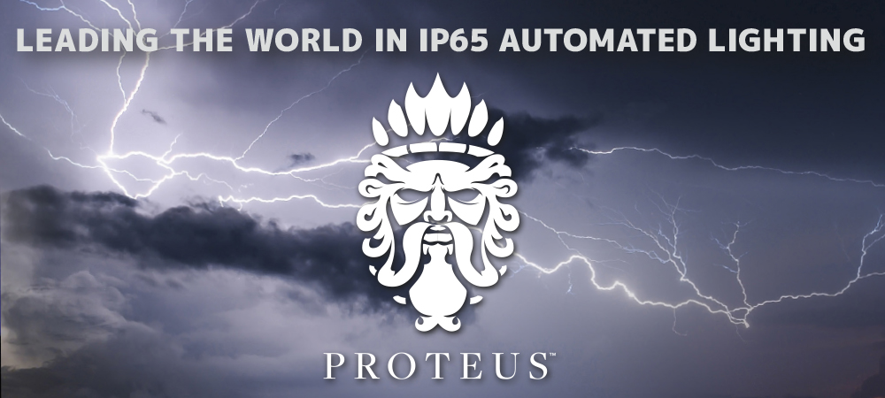 Elation Proteus leading the world in IP65 automated lighting with over 10,000 units in the market