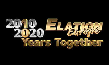 From new kid on the block to top industry player: Elation Europe marks a decade of lighting achievement