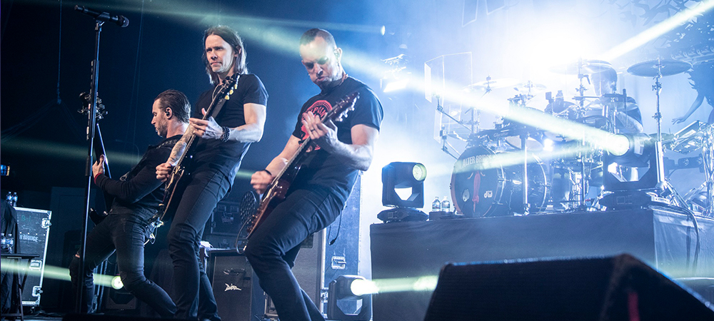 Elation Smarty ideal fit on Alter Bridge US tour
