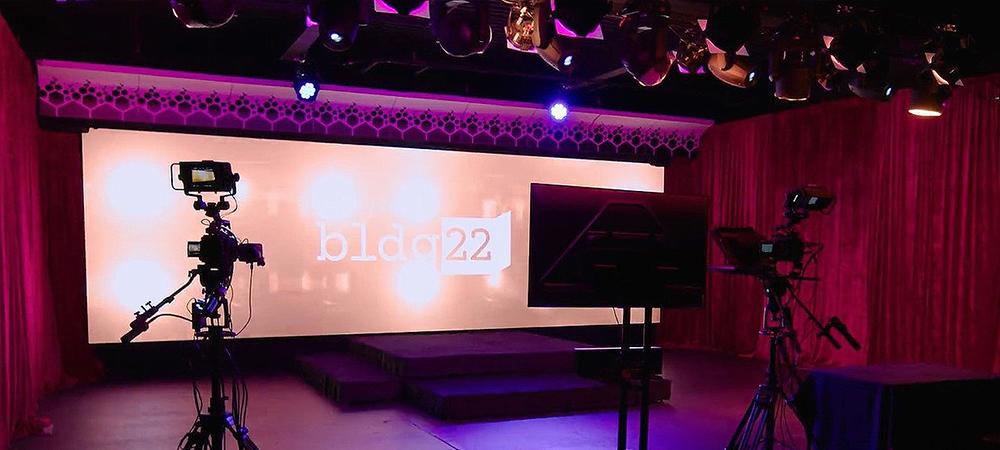 AVL Creative Building 22 virtual event studio gets Elation touch