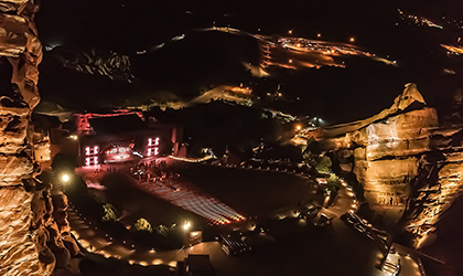 Brown Note turns to Elation IP-rated luminaires for Red Rocks shows