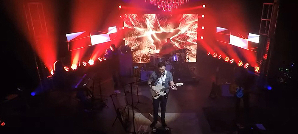 Stage Right Lighting of Virginia hosts live stream benefit concert