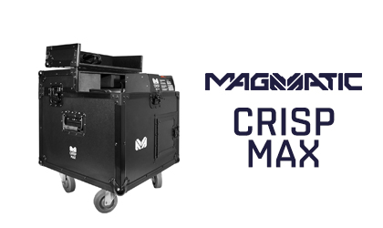 Let it snow with Crisp Max from Magmatic atmospheric effects