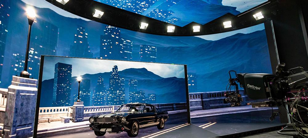 Elation KL Panel™ flexible fit for Creative Technology's LED studios