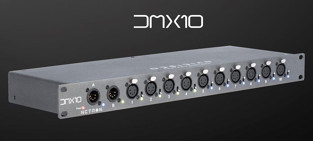Obsidian launches affordable, flexible NETRON DMX10 AB splitters