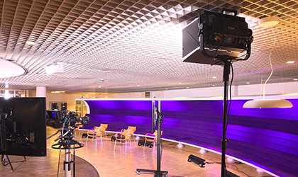 DSH Producties of the Netherlands offers broadcast-quality Elation KL Panel