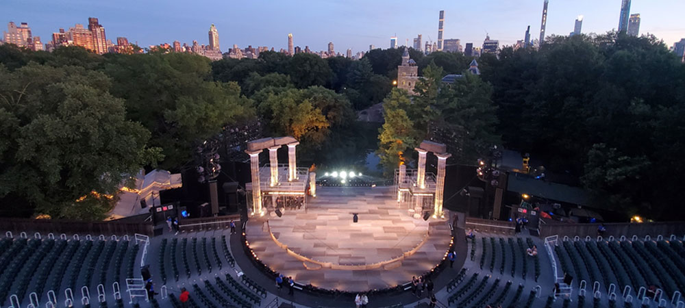 Proteus meets Hercules in New York's Central Park