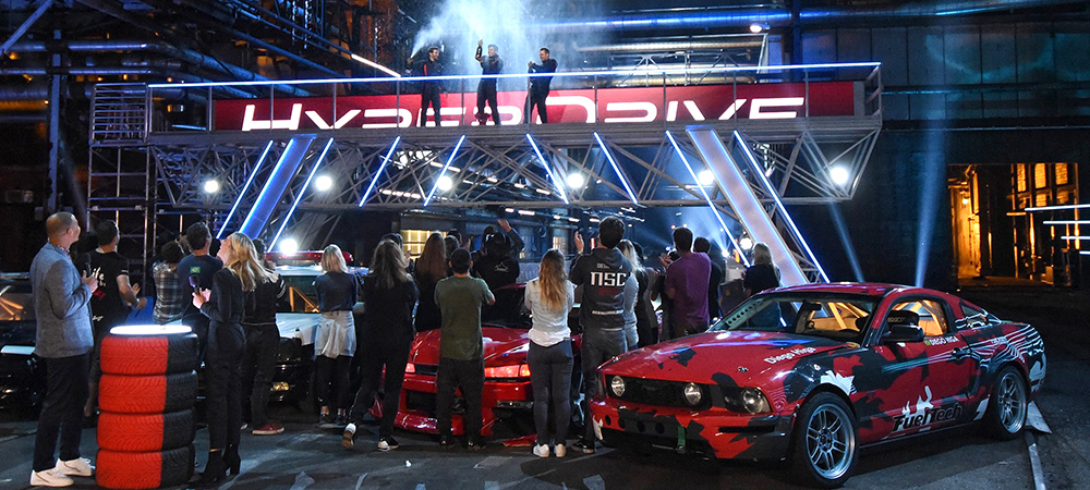 """Elation gear up to the challenge on Netflix's """"Hyperdrive"""""""