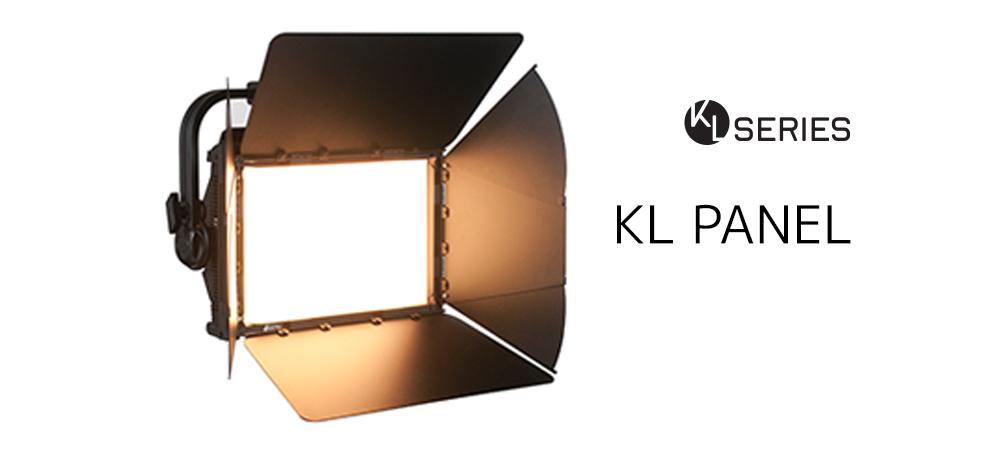 Elation KL Panel for broadcast-quality white or full-color soft light