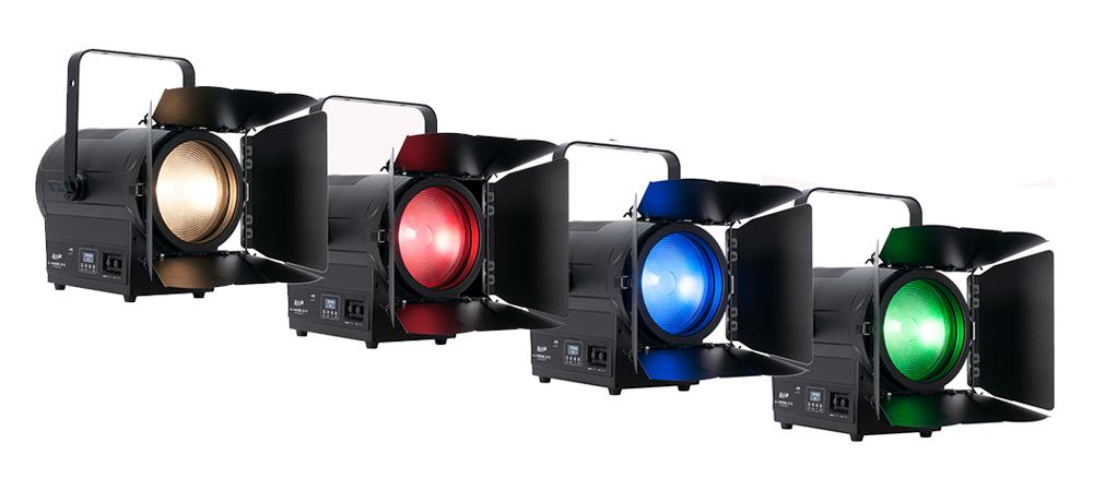 """Elation expands KL """"Key Light"""" Series with full-color KL Fresnel 8 FC"""