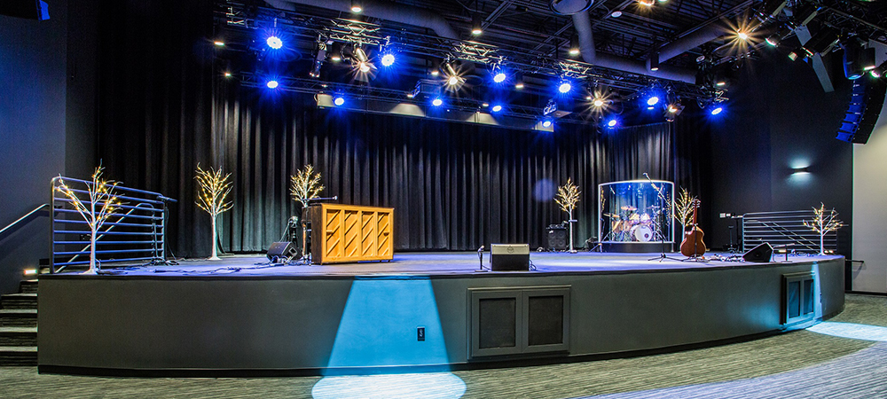 New sanctuary at Life Baptist Church in Las Vegas opens with state-of-the-art Elation lighting system