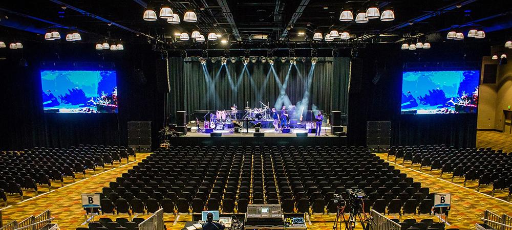 Efficient Elation Lighting System for Legends Casino Events Center