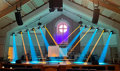 Elation lighting upgrade supports contemporary worship at Living Word Church
