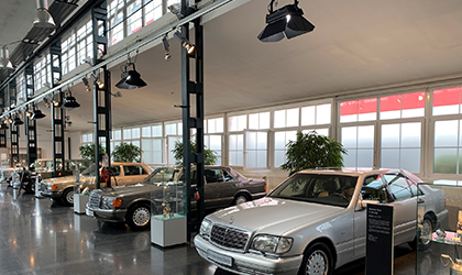 Elation KL Panel highlights elegance of classic Mercedes-Benz vehicles