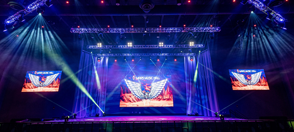 Alabama's new Mars Music Hall a hit with Elation lighting