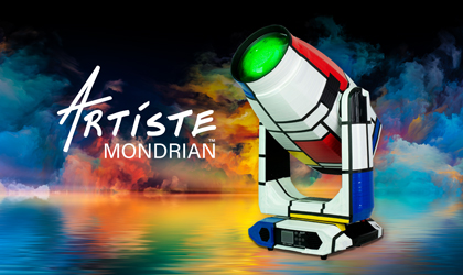 Elation's top-of-the-line Artiste Mondrian™ now available