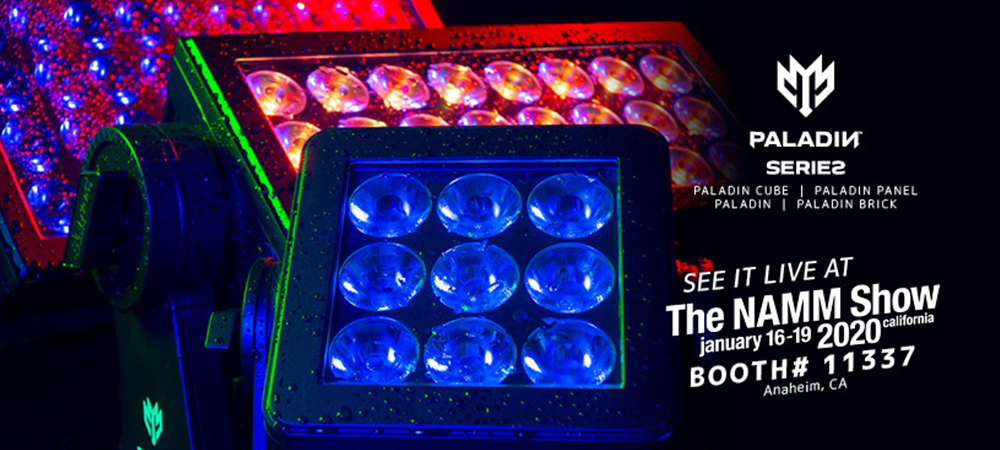 Lights, Atmospherics, Control! Elation to highlight creative ranges at 2020 NAMM Show