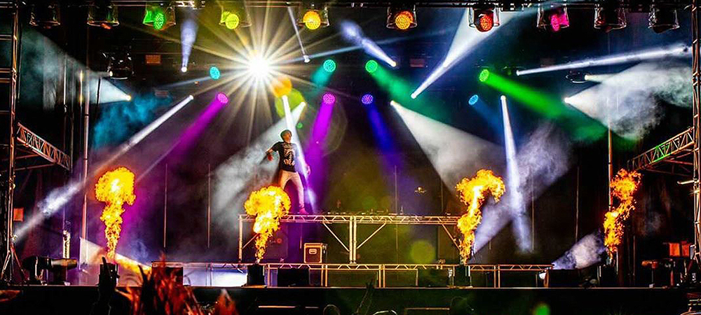 Elation IP-rated lighting the choice for outdoor drive-in events