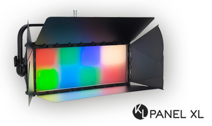 KL Panel XL: Full-color-spectrum LED soft light with muscle and multi-zone control