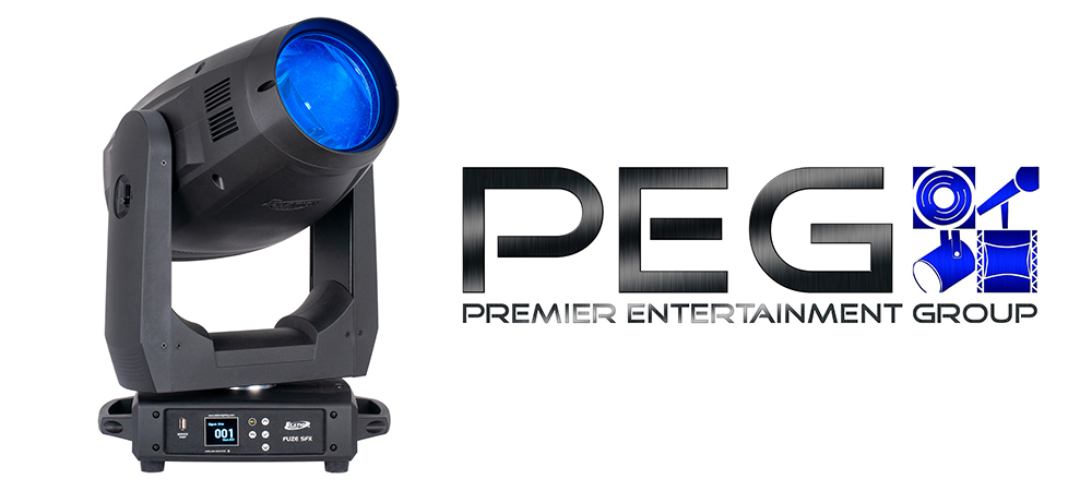 Premier Entertainment Group to hit the ground running with Elation Fuze SFX
