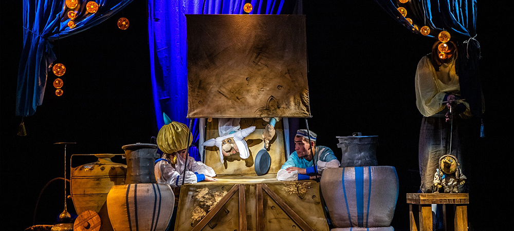 Elation LED upgrade for Russia's Aistenok Puppet Theater