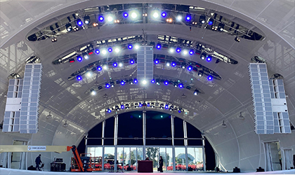 San Diego Symphony's premier new outdoor venue opens with state-of-the-art Elation lighting system