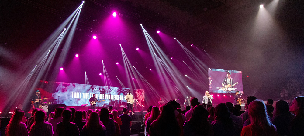 Relevant Audio + Visual light 2020 SMC Conference with Elation