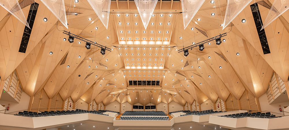 Audico chooses Elation for spectacular house lighting solution at Finnish concert hall
