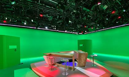 Elation meets broadcast standards on redesigned France Television set