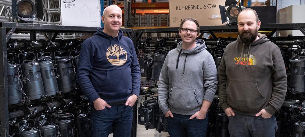 Winkler Livecom invests in 200 Elation KL Fresnel Series Luminaires